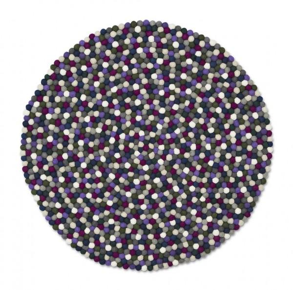 Teppich Pinocchio in der Farbe purple von HAY
