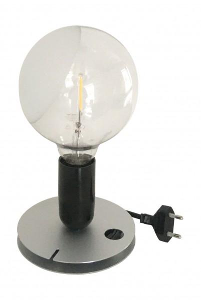 Tischleuchte Lampadina LED schwarz Flos