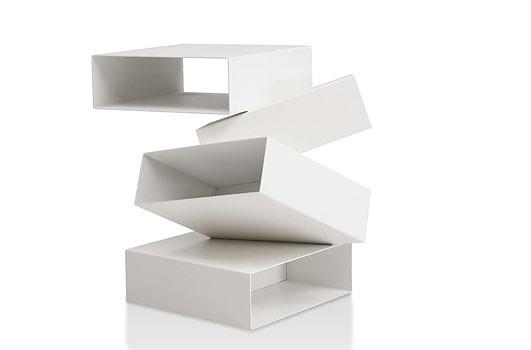 Balancing Boxes von Porro in weiß