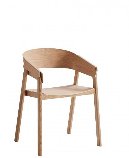Armlehnstuhl Cover Chair in Eiche von Muuto
