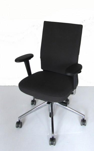 Schreibtischdrehstuhl ID Soft mit 3D-Armlehnen von Vitra, Bezugsstoff Plano dunkelgrau (69) - Ausstellungsstück