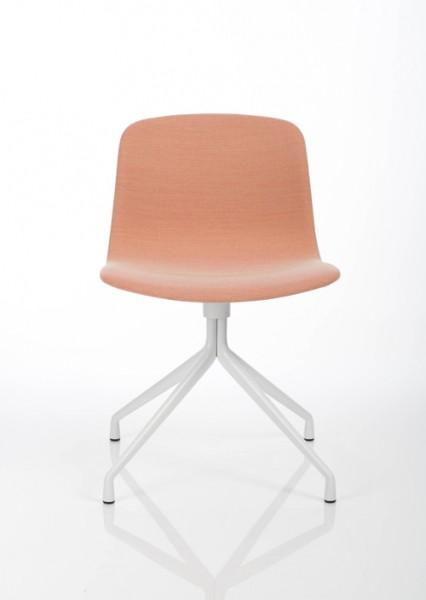 Drehstuhl About a Chair von Hay AAC11 mit Bezugsstoff Steelcut Trio 515 candy