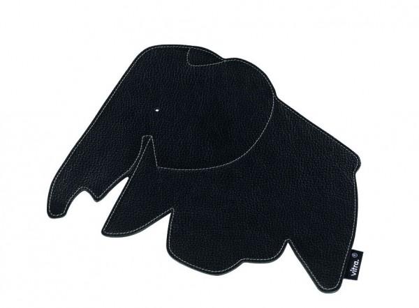 Elephant Pad Leder nero von Vitra