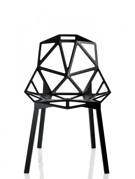 Schalenstuhl Chair One von Magis in schwarz