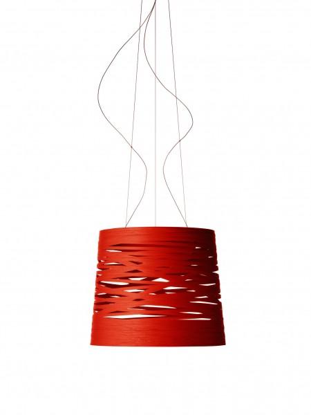 Hängeleuchte Tress grande Sospensione Farbe rot (rosso) Foscarini