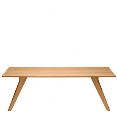 Tisch Ago von Alias, Tischplatte Eiche furniert, Gestell Eiche massiv lackiert