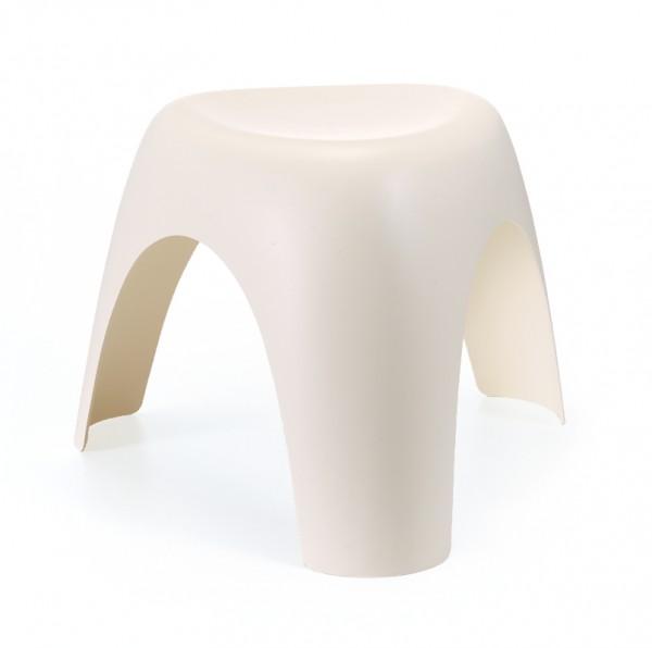Hocker Elephant Stool von Vitra in crème