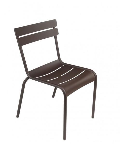 Stuhl Luxembourg Farbe rost von Fermob