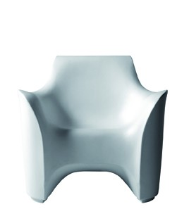 Sessel Tokyo-Pop von Driade in der Farbe weiß