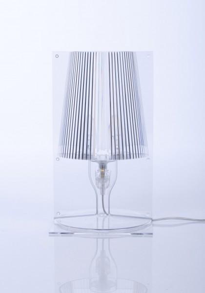 Tischleuchte Take von Kartell in transparent glasklar (B4)