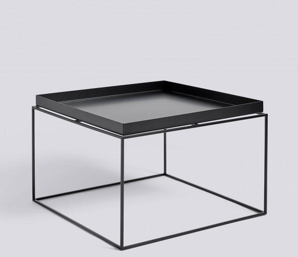 Tray Table Coffee Square von HAY schwarz