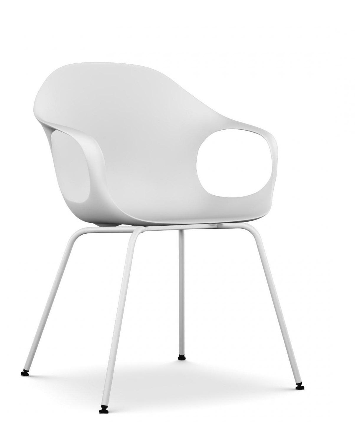 elephant mit vier rundrohrbeinen kristalia armlehnstuhl. Black Bedroom Furniture Sets. Home Design Ideas
