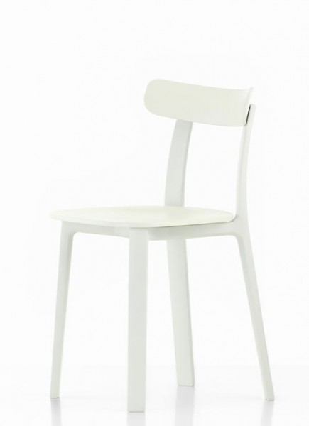 All Plastic Chair von Vitra weiss two tone