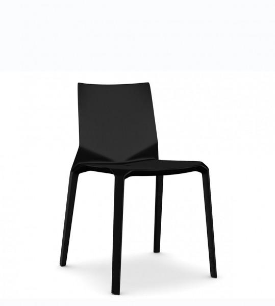 Stuhl Plana-schwarz-Kristalia