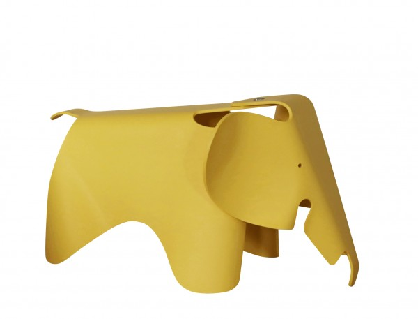 Eames Elephant Farbe butterblume Vitra