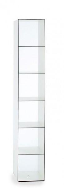 Regalturm Wogg 25 Caro 34 x 34 cm weiß von Wogg