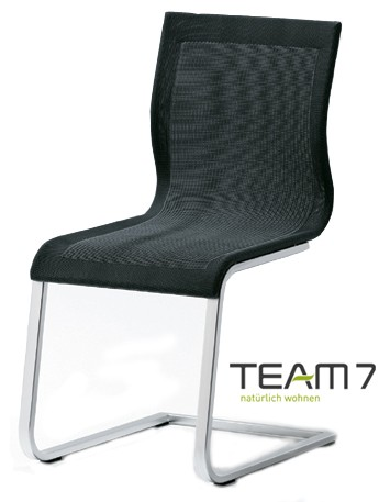 magnum freischwinger bezug stricktex team 7 stuhl. Black Bedroom Furniture Sets. Home Design Ideas