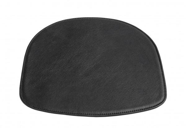 Stuhlkissen für Barhocker AAS 32 in Leder schwarz von HAY
