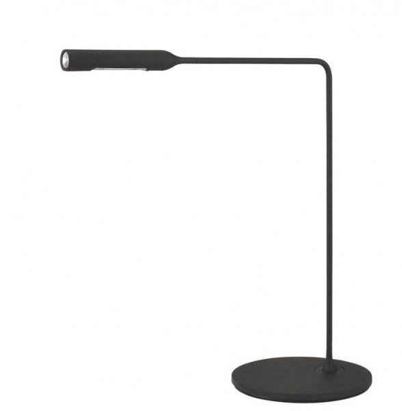 Tischleuchte Flo Desk von Lumina-schwarz soft touch