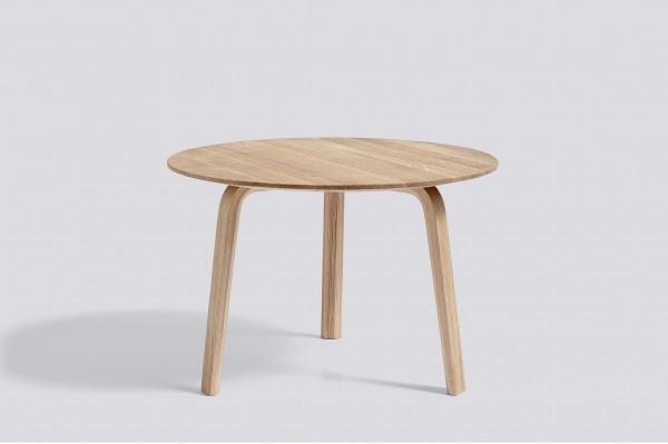 Bella Coffee Table Ø 60 cm, Höhe 39 cm Eiche matt lackiert (aufgehellt) Hay