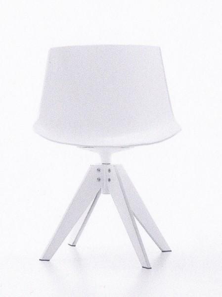 Stuhl Flow Chair Füße VN aus Stahl