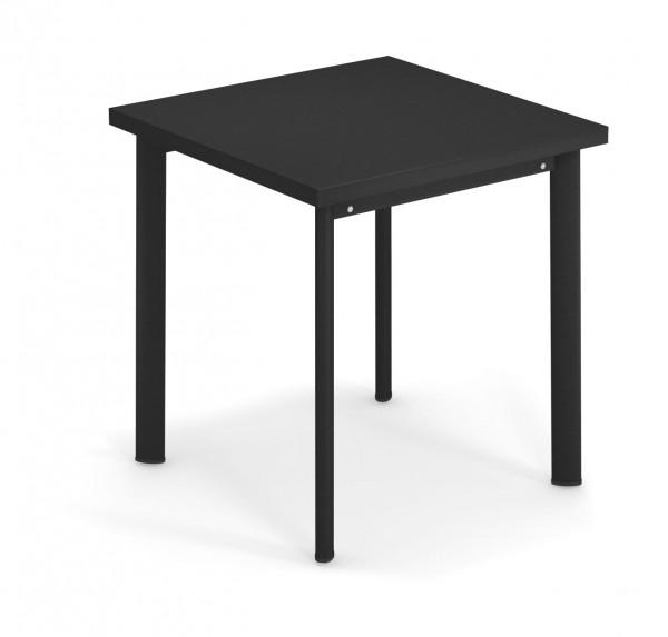 Tisch Star 70 cm x 70 cm Farbe schwarz von emu