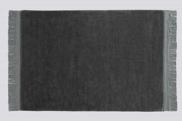 Teppich Raw rug 200 cm x 140 cm anthrazit Hay