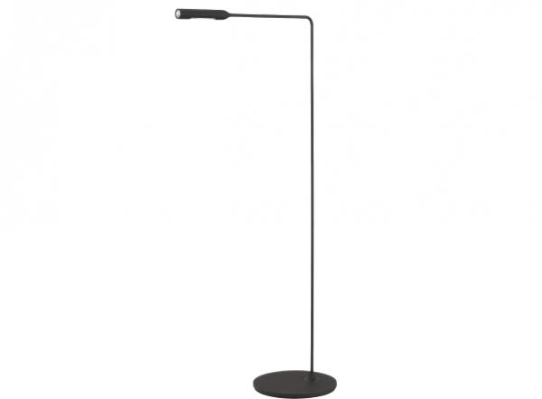 Stehleuchte Flo Lounge von Lumina in schwarz soft touch