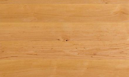 Schreibtisch Mobile mit Platte Team 7 Holzmuster Erle