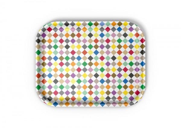 Classic Tray medium Diammonds multicolour von Vitra