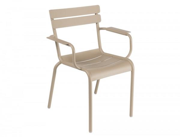 Armlehnstuhl / Sessel Luxembourg in der Farbe muskat von Fermob
