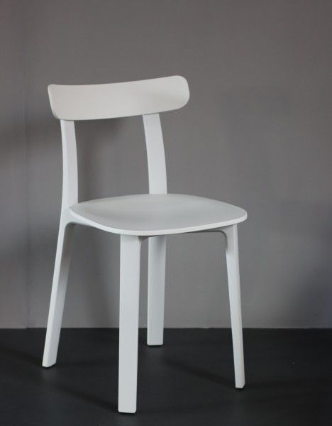 Stuhl All plastic Chair Farbe two tone weiß Vitra