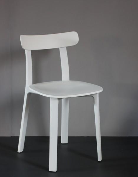 Stuhl All plastic Chair Farbe two tone weiß Vitra