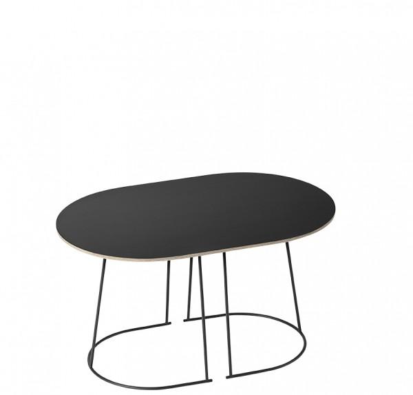Couchtisch Airy Coffee Table Small Platte schwarz Nanolaminate Muuto
