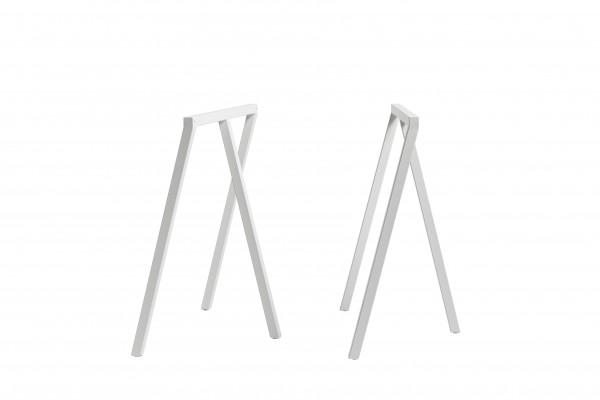 Tischböcke Loop Stand Frame von Hay in weiß