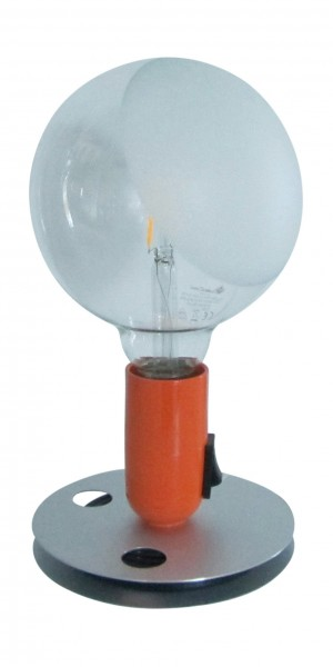 Tischleuchte Lampadina LED orange Flos