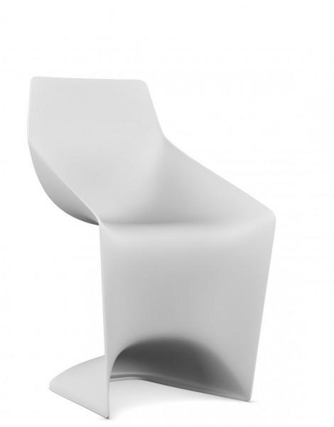 Stuhl Pulp in weiß von Kristalia