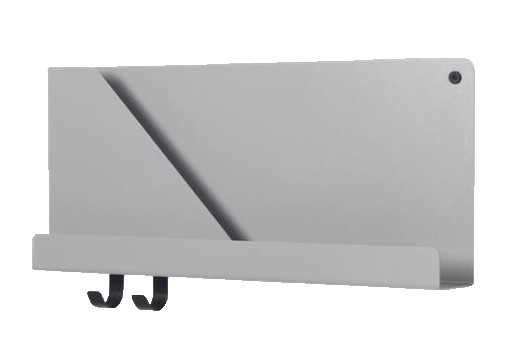 Regal Folded Shelves small Farbe grau Muuto