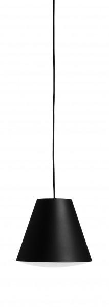 Pendelleuchte Sinker Pendant S in der Farbe soft black von HAY,