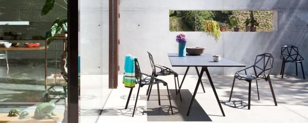 Baguette-Tisch-mit-Chair-One-Magis