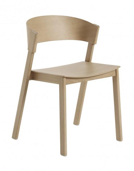 Stuhl Cover Side Chair Eiche lackiert Muuto