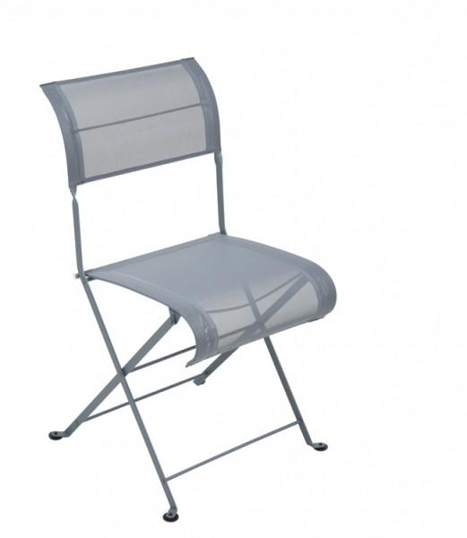 Stuhl Dune Premium von Fermob in der Farbe gewittergrau
