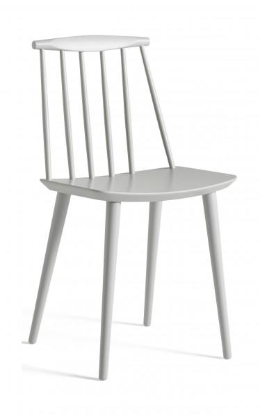 Stuhl J77 Chair Ausführung dusty grey gebeizt von Hay