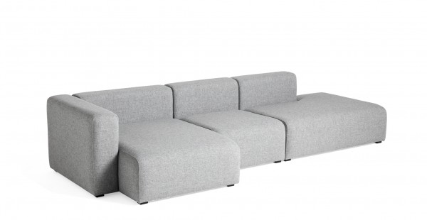 Mags Sofa mit Chaiselongue links Kombi 4 Bezugsstoff Hallingdal 130 von Hay