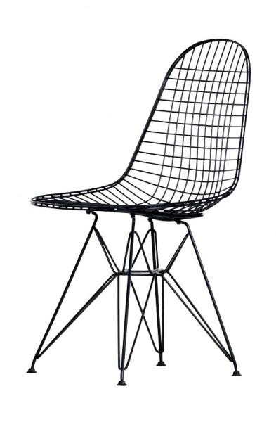 Stuhl Wire Chair DKR basic dark Vitra