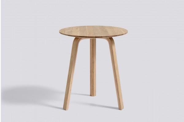 Beistelltisch Bella Coffee Table Ø 45 cm, Höhe 49 cm Eiche matt lackiert (aufgehellt) Hay
