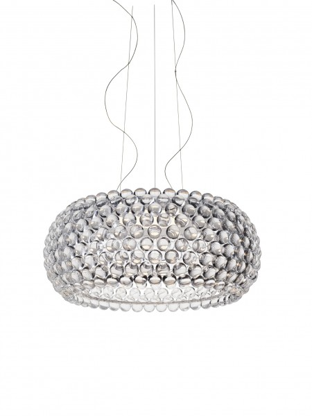 Hängeleuchte Caboche Plus grande LED von Foscarini, Ausführung transparent