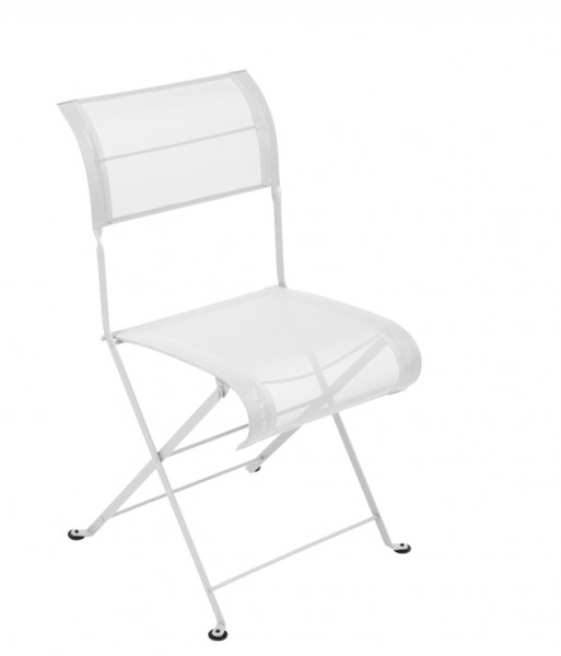 Stuhl Dune Premium von Fermob in der Farbe baumwollweiß