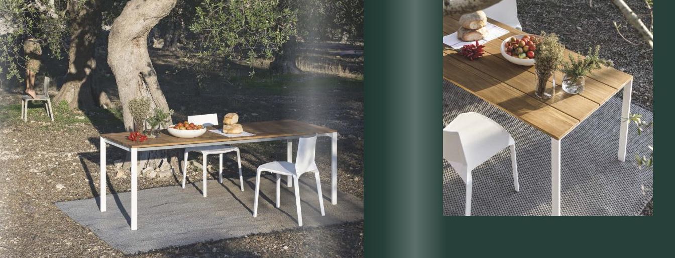 Tisch-Be-easy-slatted-Stuhl-Plana-Kristalia