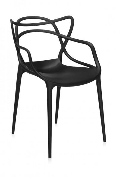 Armlehnstuhl Masters Farbe schwarz von Kartell